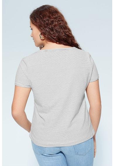 VIOLETA BY MANGO Тениска Basi с органичен памук Жени
