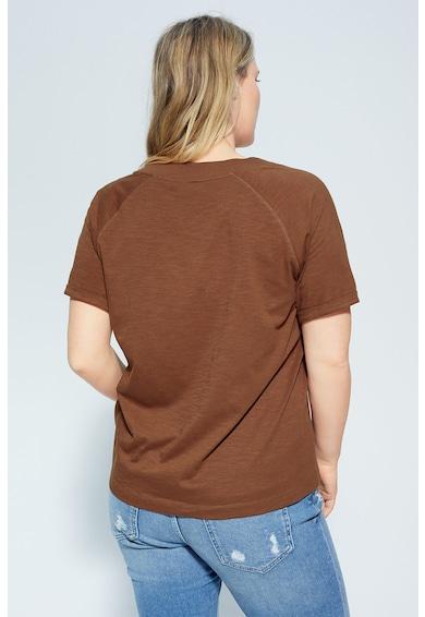 VIOLETA BY MANGO Тениска Yuzu от органичен памук Жени