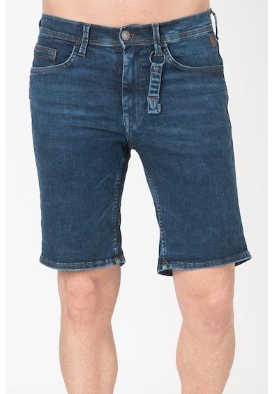 BLEND Pantaloni scurti slim fit din denim Jet Barbati