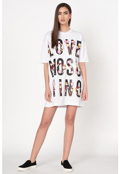 Love Moschino Рокля тип суитшърт с лого Жени