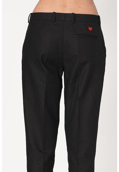 Love Moschino Pantaloni din amestec de bumbac Femei
