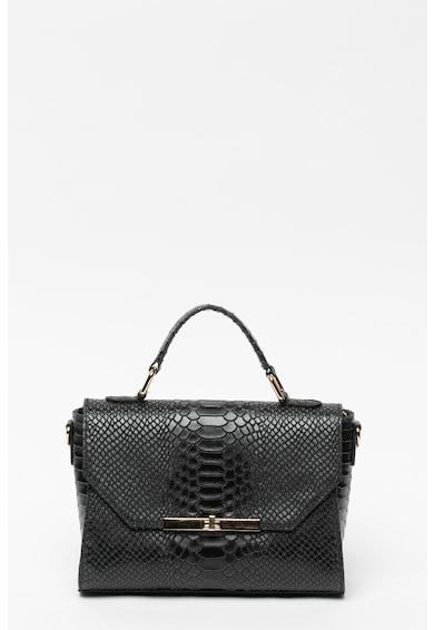Carolina di Rosa Кожена чанта с шагрен Жени