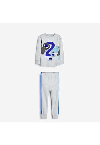 NEXT Pijama din bumbac cu imprimeu grafic Baieti