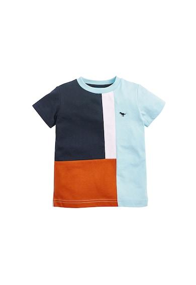 NEXT Tricou de bumbac cu model colorblock Baieti