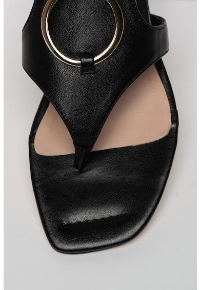 Tosca Blu Sandale din piele cu bareta separatoare Creta Femei
