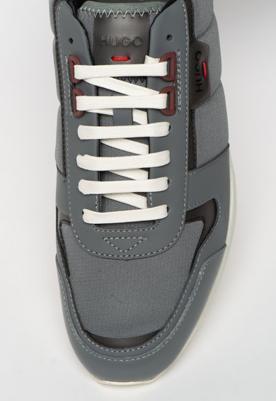 Boss Pantofi sport cu insertii de piele Hybrid Barbati