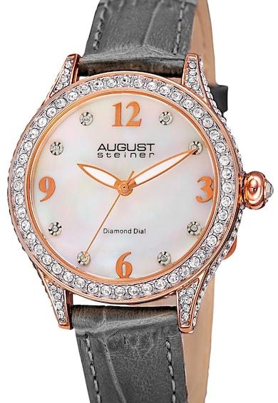 August Steiner Ceas decorat cu 8 diamante Femei