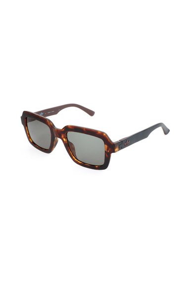 adidas Originals Ochelari de soare dreptunghiulari unisex cu rama tortoise Femei