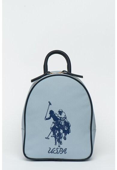U.S. Polo Assn. Раница от еко кожа с гумирано лого Жени