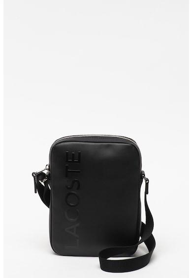 Lacoste Кожена чанта с релефно лого Мъже