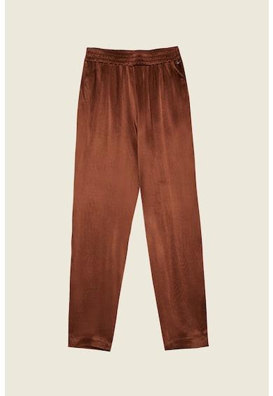 Motivi Pantaloni conici cu aspect catifelat Femei