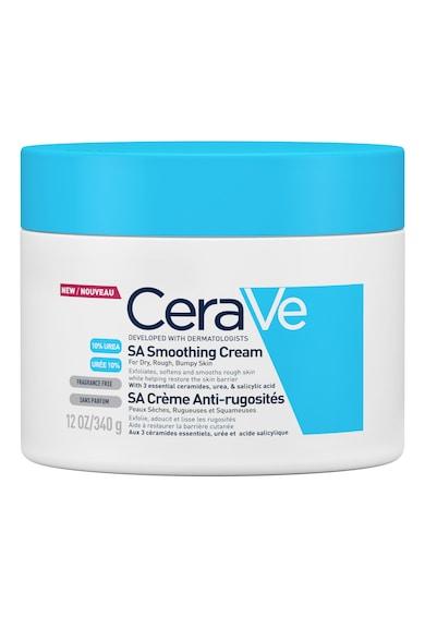 CeraVe Crema hidratanta si exfolianta pentru corp  SA pentru pielea uscata, aspra, cu rugozitati 340gr Femei