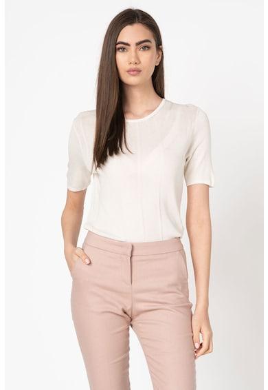 Stefanel Bluza din tricot fin cu maneci scurte Femei
