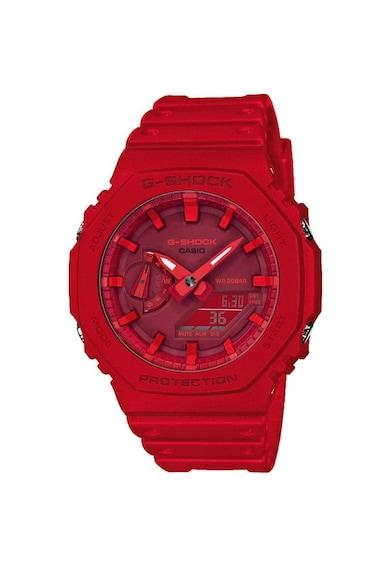 Casio Ceas barbatesc  G-Shock, 45mm, 20ATM, Rosu Barbati