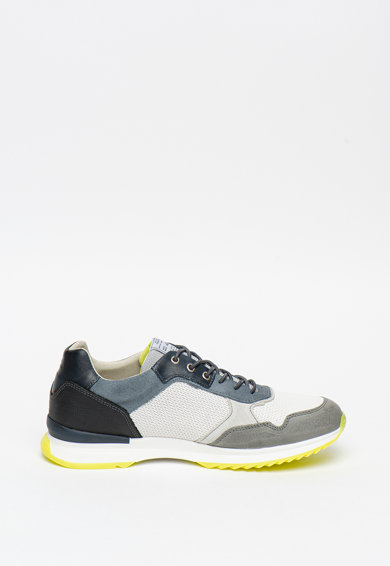 Bullboxer Велурени спортни обувки с мрежести зони Мъже