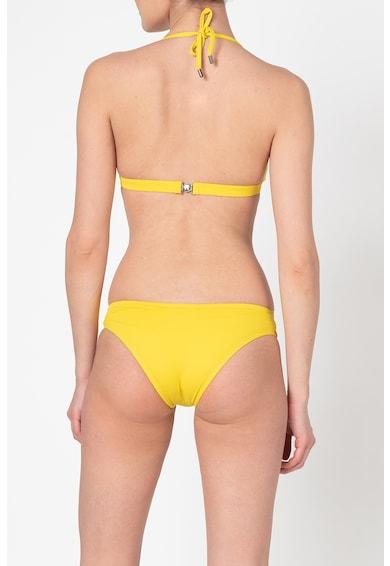 Karl Lagerfeld Sutien de baie cu cupe triunghiulare si burete subtire Femei