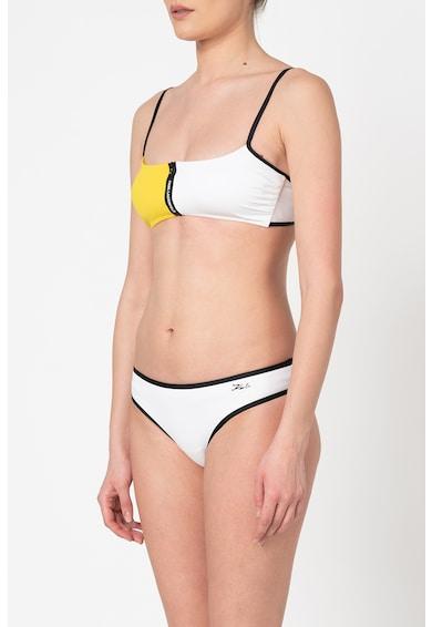 Karl Lagerfeld Sutien de baie cu model colorblock Femei