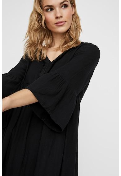 Vero Moda Разкроена рокля с шпиц Жени