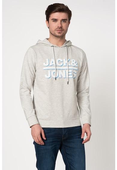 Jack&Jones Суитшърт Dines с качулка и лого Мъже
