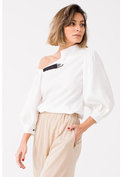 LIN APPAREL Bluza cu model asimetric Femei