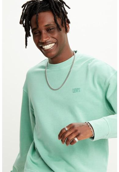 Levi's Bluza sport cu logo brodat Barbati