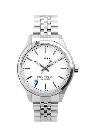 Timex Ceas analog cu cadran fosforescent Femei