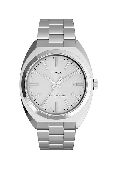 Timex Ceas quartz din otel inoxidabil Barbati