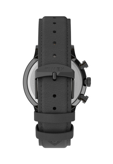 Timex Ceas cronograf cu cadran cu lumina de fundal Barbati