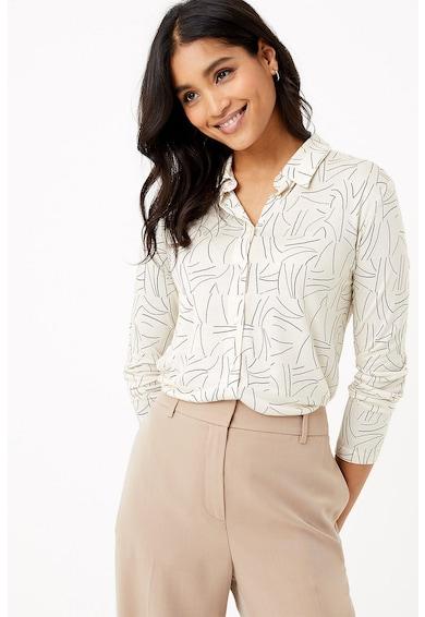 Marks & Spencer Camasa din viscoza cu imprimeu geometric Femei