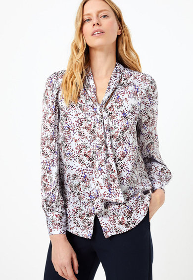 Marks & Spencer Camasa din satin cu model abstract Femei