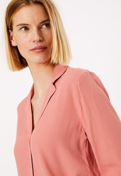 Marks & Spencer Camasa regular fit cu maneci 3/4 Femei