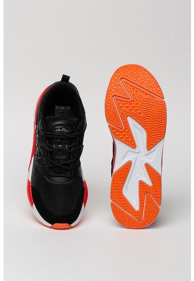 ELLESSE Pantofi sport cu insertii de piele si plasa Woo Barbati