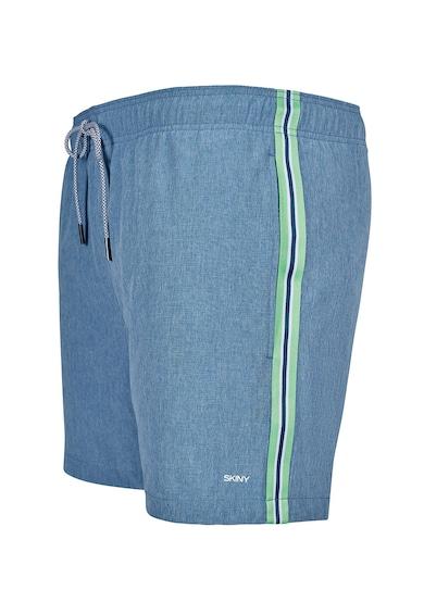 Skiny Pantaloni scurti de baie cu benzi laterale contrastante Beach Barbati