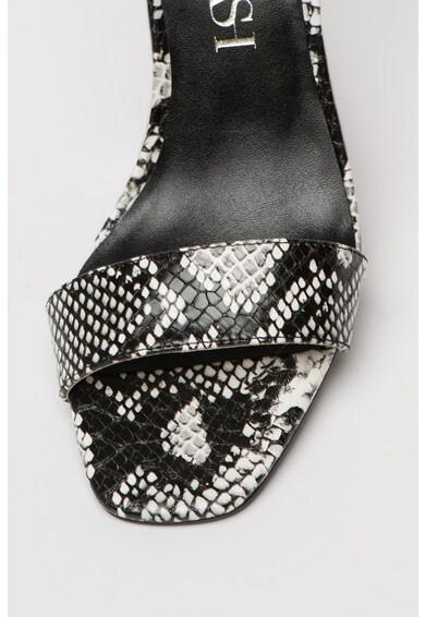 SuperTrash Sandale din piele intoarsa sintetica cu toc masiv Ayla Femei