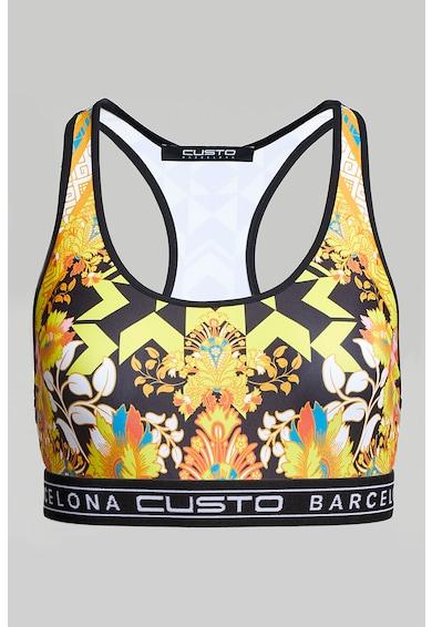 Custo Barcelona Bustiera cu imprimeuri variate Femei