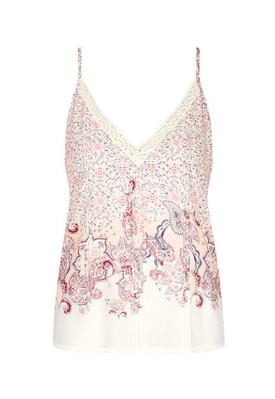 Triumph Top de pijama cu imprimeu floral Mix&Match Femei