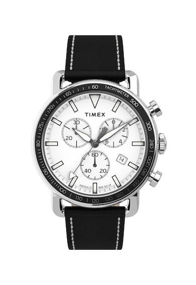 Timex Ceas cu o curea de piele Barbati