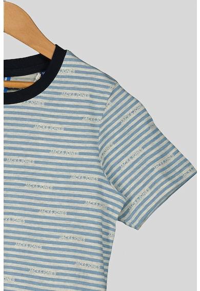 Jack&Jones Tricou de bumbac cu model in dungi Comiks Baieti