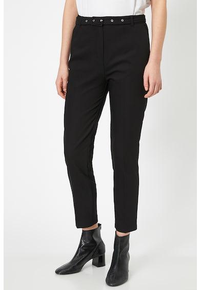 KOTON Pantaloni crop cu croiala conica Femei