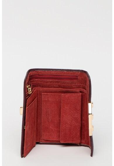 Pierre Cardin Portofel din piele ecologica cu elemente metalice Femei
