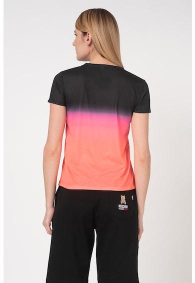 Moschino Tricou de plaja, cu model logo Femei