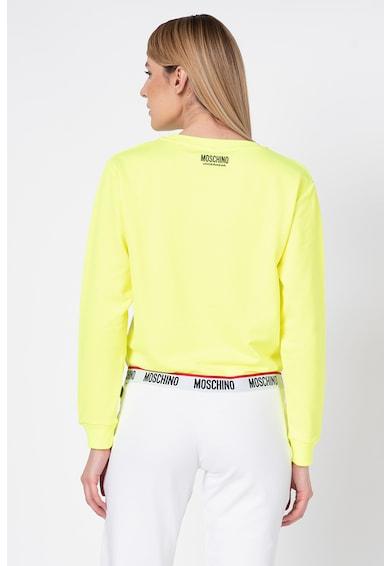Moschino Bluza sport de casa cu terminatie elastica Femei