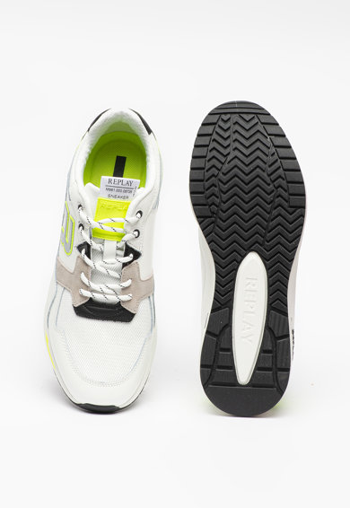 Replay Pantofi sport de piele Kentfields Barbati