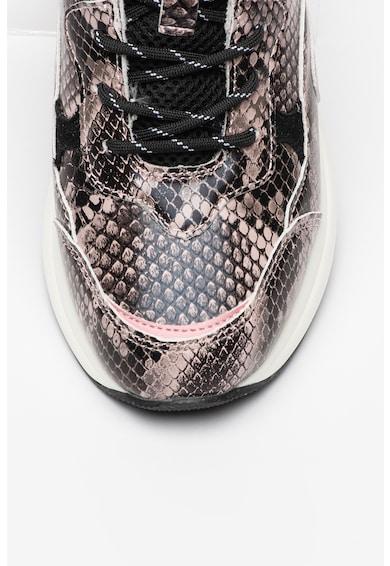 Replay Pantofi sport cu insertii de piele intoarsa Weyburns Femei