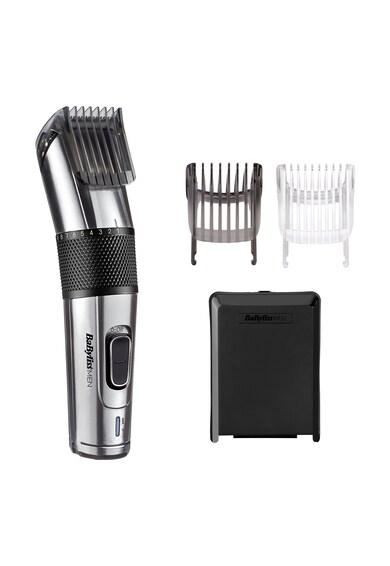 BaByliss Aparat de tuns parul si aranjat barba  Carbon Steel Hair Clipper, 2 accesorii  Barbati