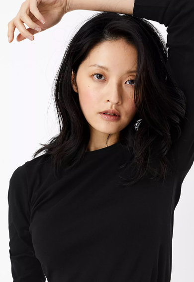Marks & Spencer Bluza cu maneci lungi si decolteu rotund Femei