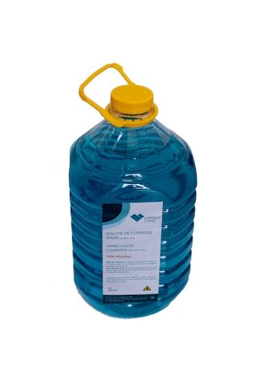 perfect care Solutie dezinfectanta pentru maini  cu aloe vera 70% alcool, efect antibacterian, 5000 ml Femei
