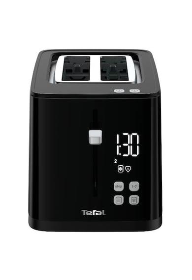 Tefal Prajitor de paine  Smart'n Light , 850W, ecran digital, 3 functii dedicate, 7 niveluri de rumenire, Negru Femei