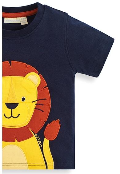 JoJo Maman Bebe Tricou din bumbac cu model cu leu Baieti