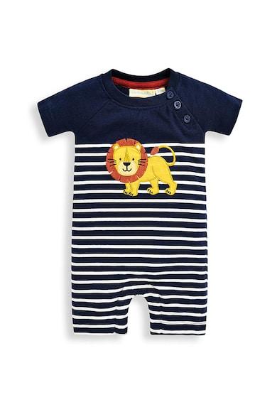 JoJo Maman Bebe Памучен гащеризон с дизайн на лъв Момчета